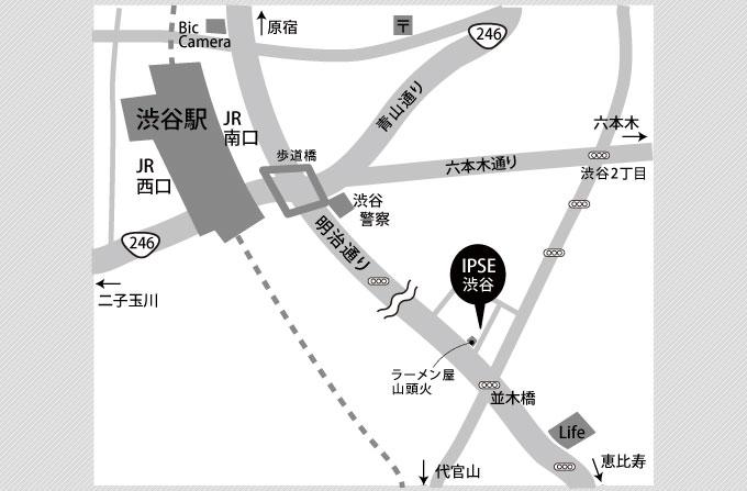 渋谷スタジオ_地図